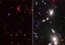la materia oscura organizzata nell'universo