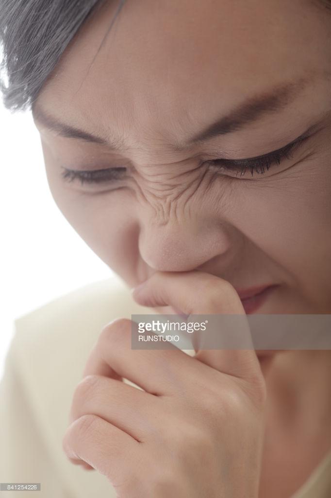 punti di pressione: bloccare uno starnuto