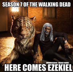 The walking dead: Ezekiel e Shiva ci riportano a quando tutto ebbe inizio