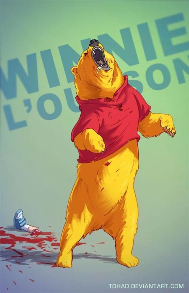 Caricature: Winnie the Pooh