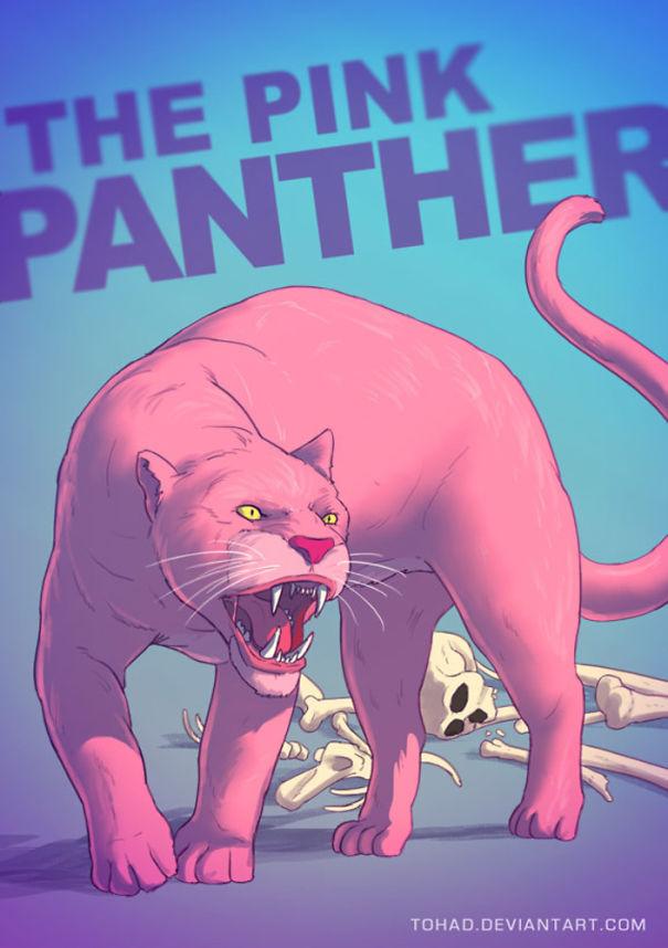 Caricature: La Pantera Rosa