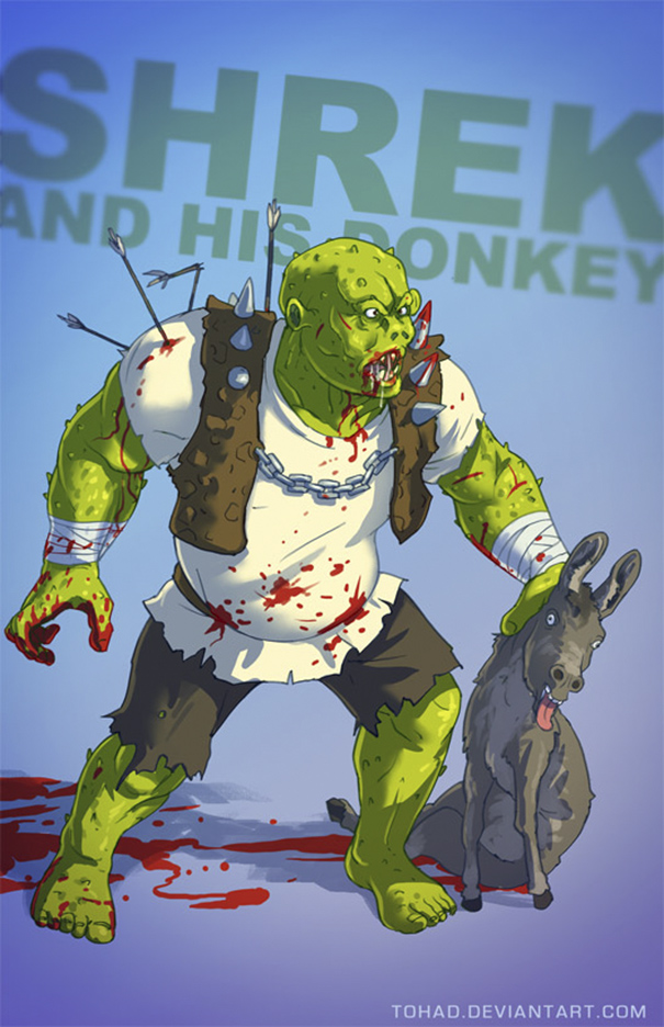 Caricature: Shrek