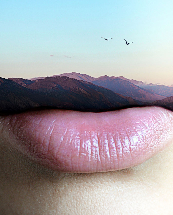 Foto spettacolari: labbra d'eterno