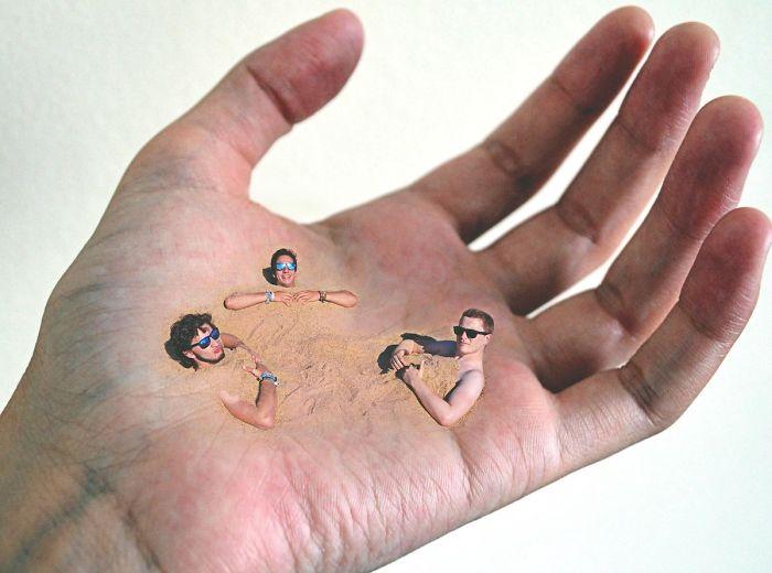 Foto spettacolari: Nascosti dietro a un dito