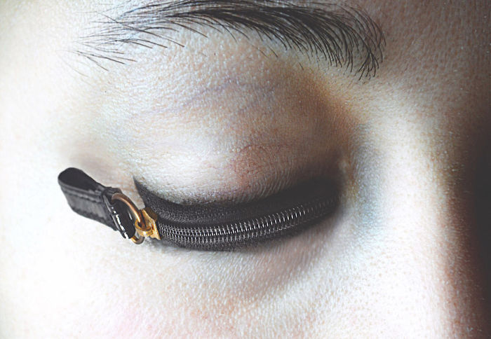 Foto spettacolari: Occhi serrati