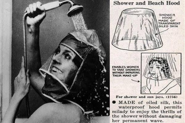 l'invenzione del cappuccio da doccia
