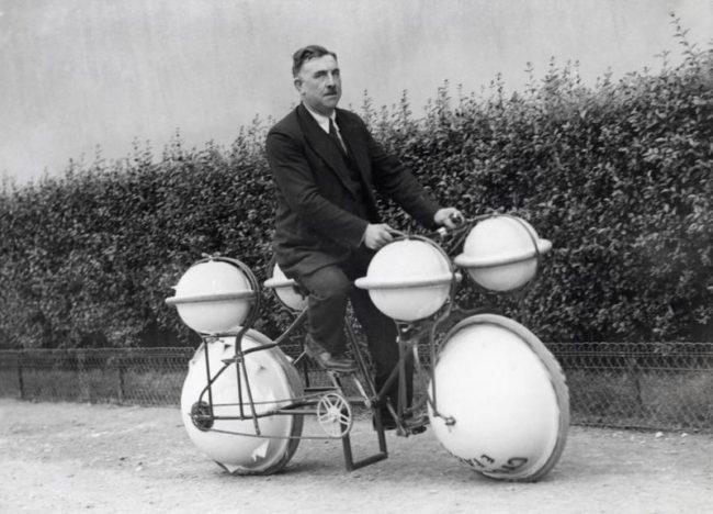 l'invenzione del ciclomero