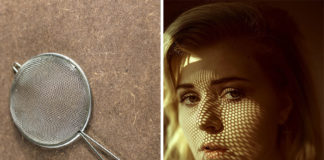 composizione fotografica: effetto ombra