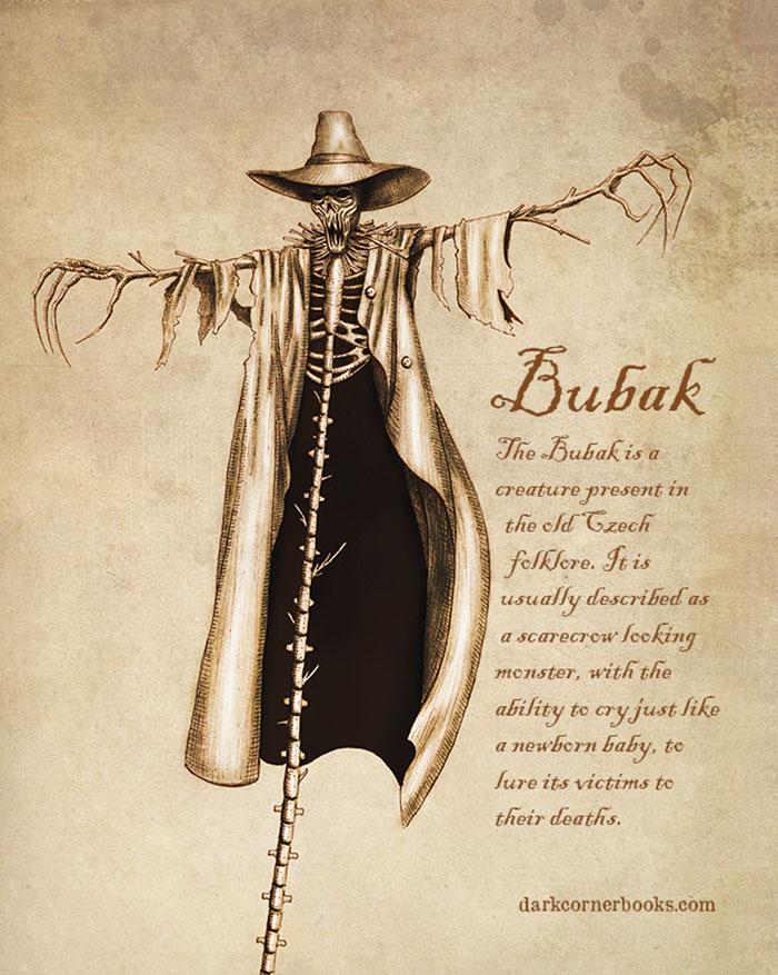 mostri mitologici: BUBAK