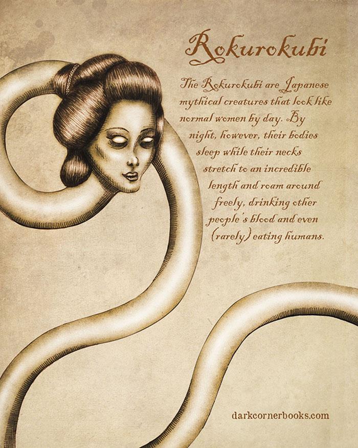 mostri mitologici: ROKOKUROKUBI