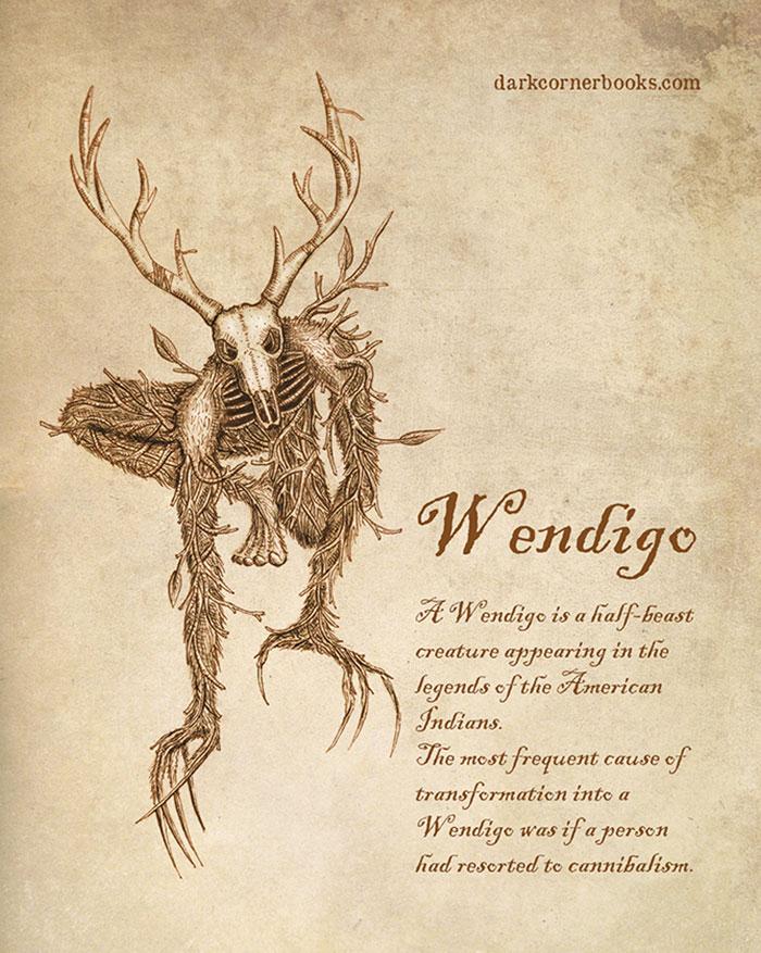 mostri mitologici: WENDIGO