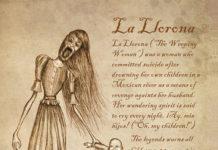 mostri mitologici: LA LLORONA