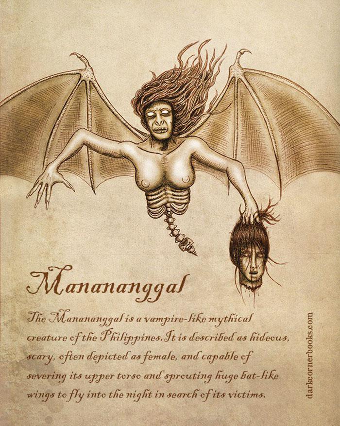 mostri mitologici: MANANANGALL