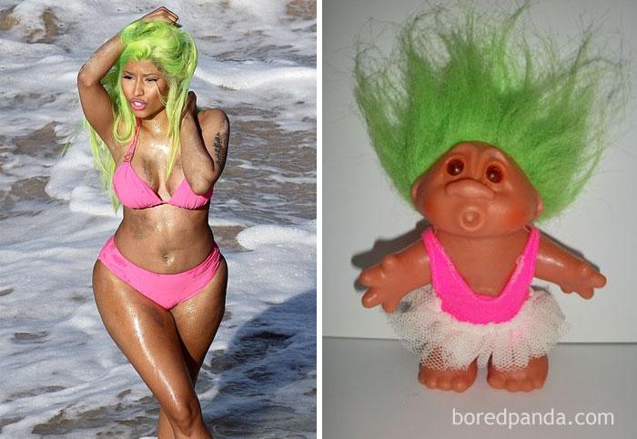 sobrietà: Nicky Minaj o troll?