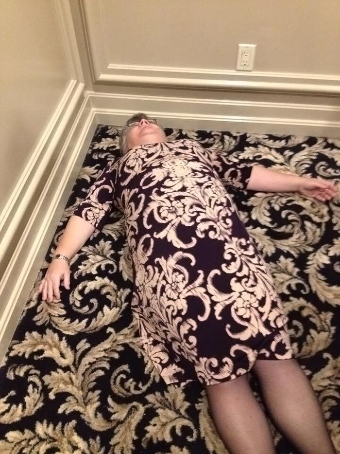 sobrietà: la nonna e il tappeto trendy...da k.o.