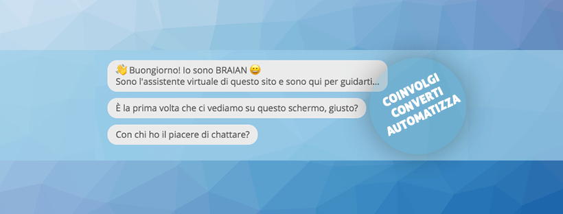 robot chat: Braian e la sfida di domani