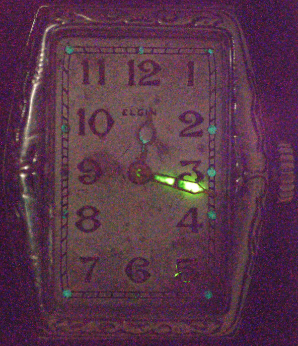 radiazioni: orologi al radio