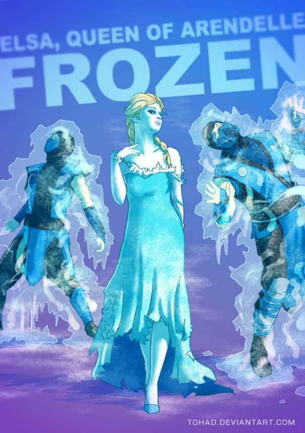 Caricature: Frozen