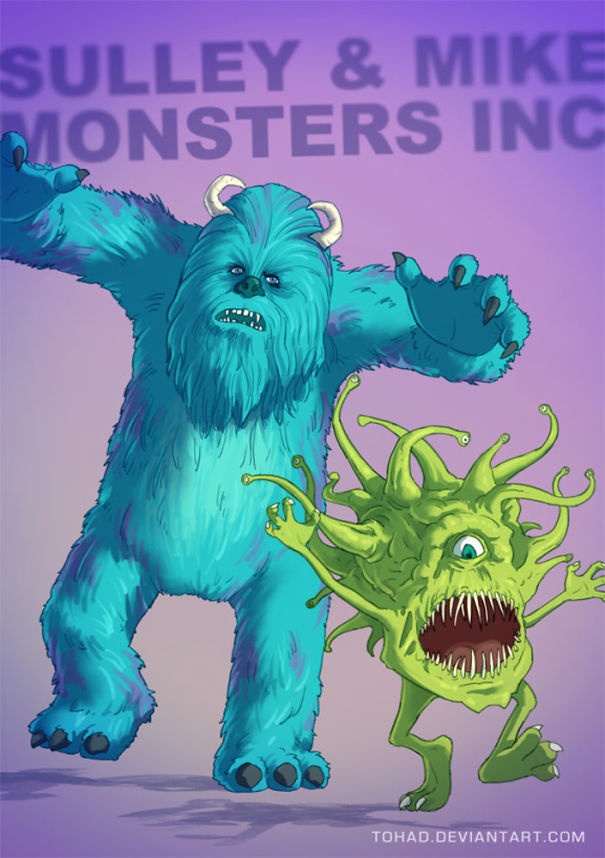 Caricature: Monster and Co