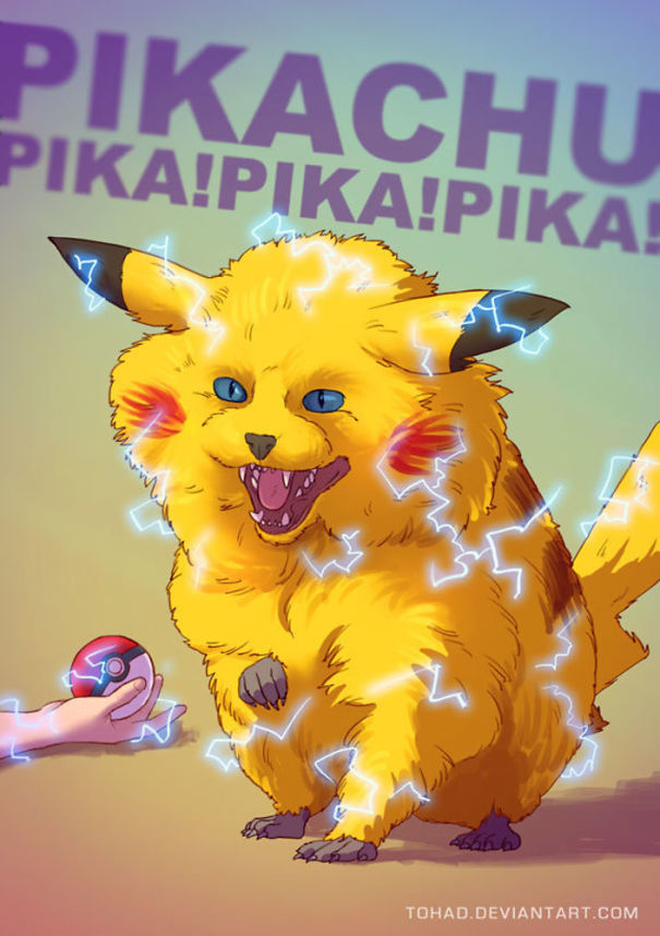 Caricature: Pokemon