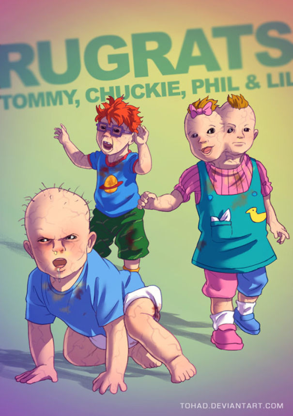 Caricature: Rugrats