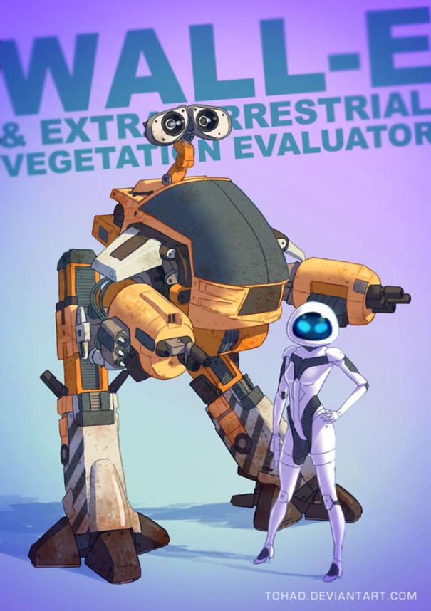 Caricature: Wall-e