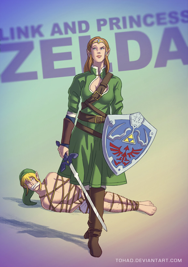 Caricature: Zelda