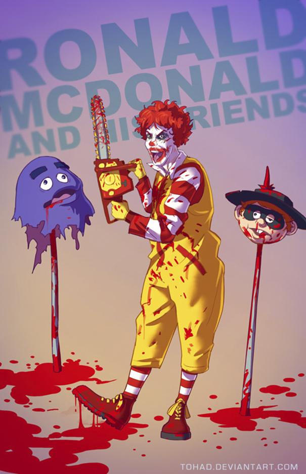Caricature: Mc Donald