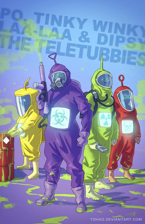 Caricature: Teletubbies