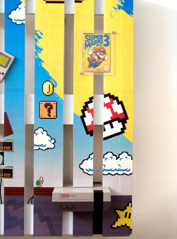 pallets: Super Mario riportato a nuova vita attraverso i pallets