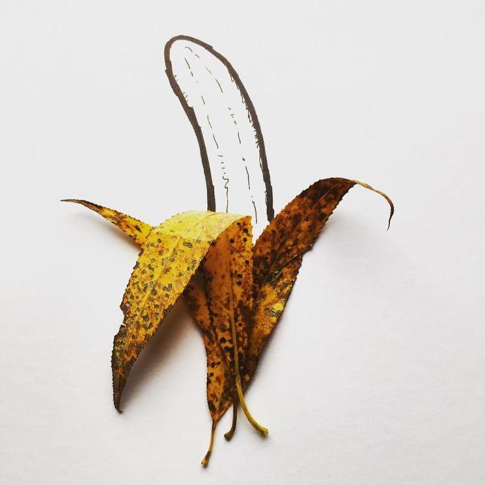 Fonte di ispirazione: Kristiàn Mensa, buccia di banana in autunno