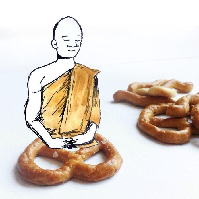 Fonte di ispirazione: Kristiàn Mensa e la meditazione formato Pretzel