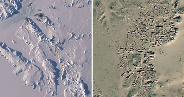 Antartide e Operation Ice Bridge