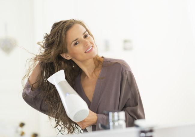 asciugacapelli: non impostarlo su super caldo!