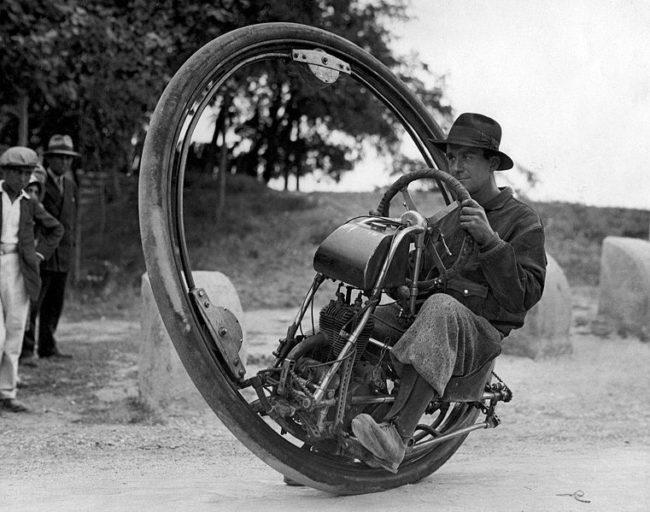 l'invenzione del monociclo