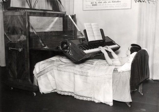 l'invenzione del pianoforte pieghevole