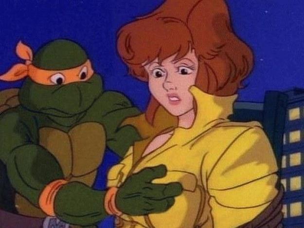 "messaggi subliminali nei cartoni, ""Le tartarughe Ninja"""