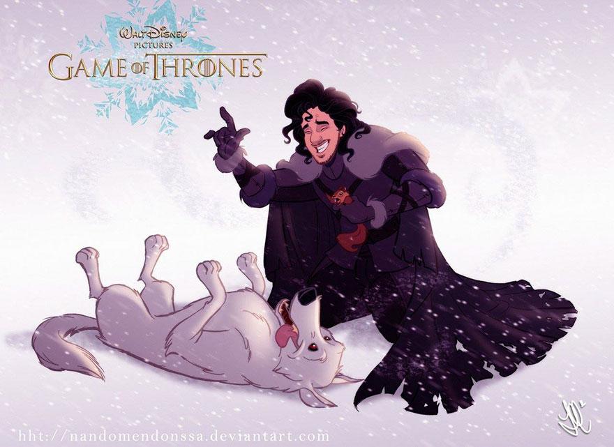 cronache del ghiaccio e del fuoco: Jon Snow