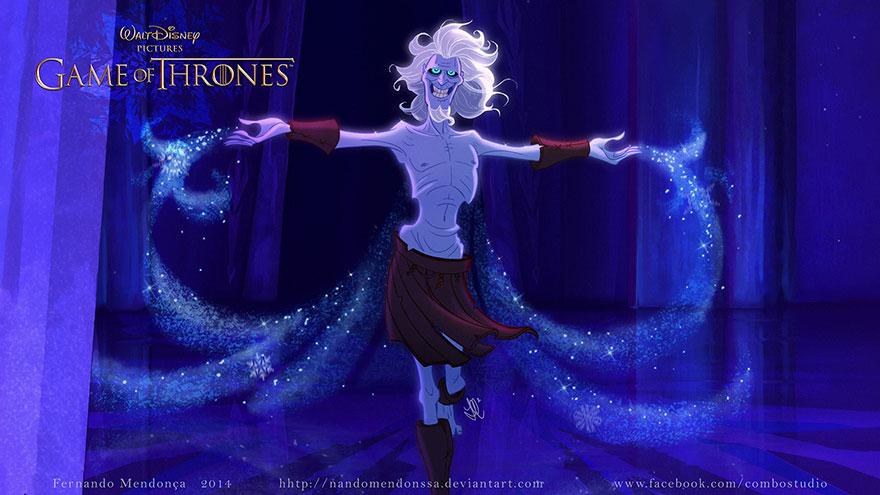 cronache del ghiaccio e del fuoco: Night King
