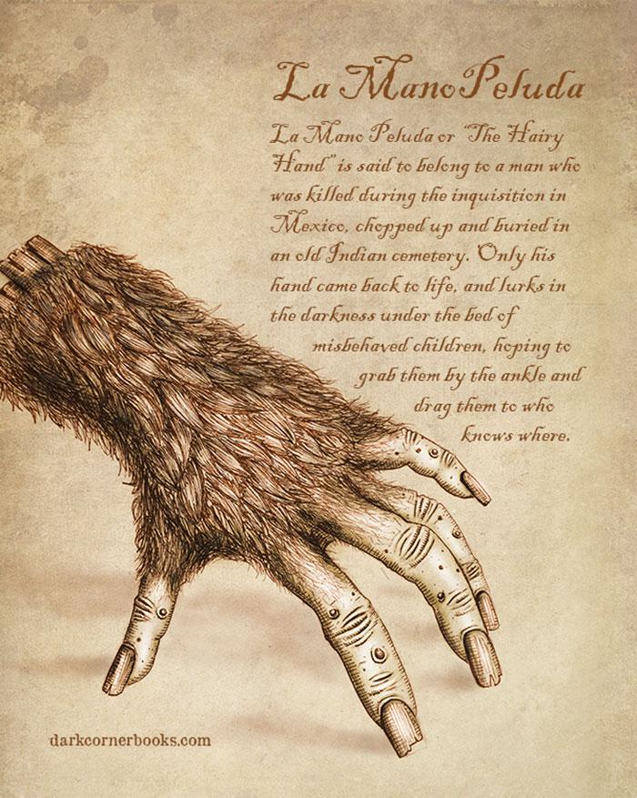 mostri mitologici: LA MANO PELUDA