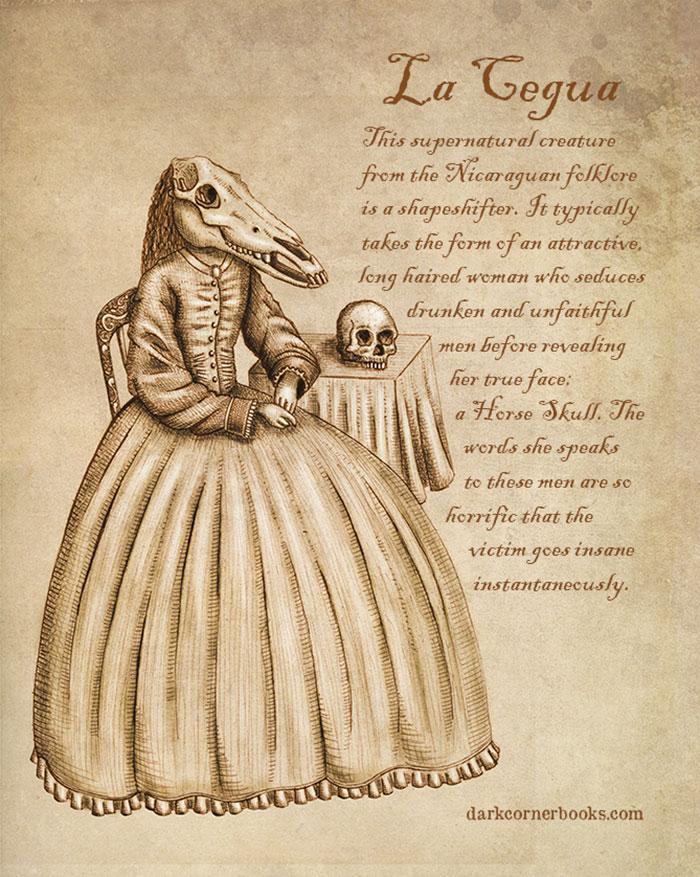 mostri mitologici: LA CEGUA