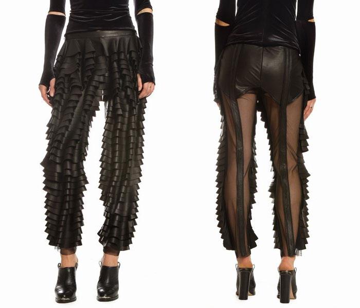 vestiti strani: pantaloni fronzolo