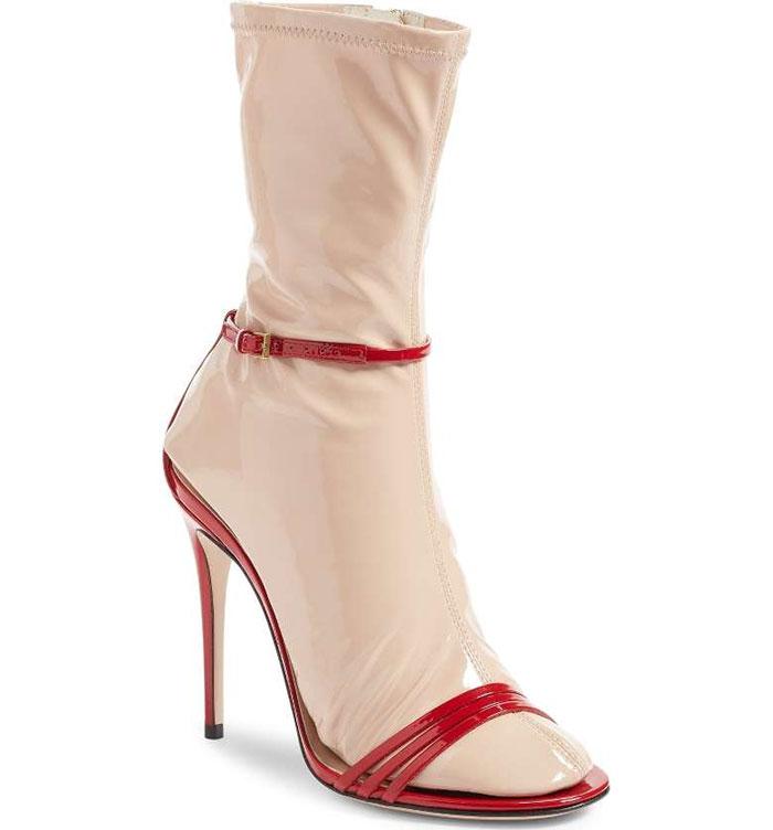 vestiti strani: la calza per tacchi by Gucci